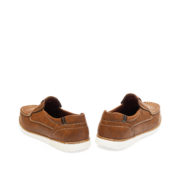 Contrasting Stitch Detail Slip-On Loafers_Coffee (4)