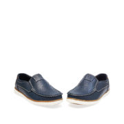 Contrasting Stitch Detail Slip-On Loafers_Navy (3)
