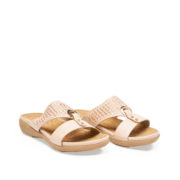Crystal Embellished Metal Ring Slide Sandals_Apricot (2)