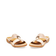 Crystal Embellished Metal Ring Slide Sandals_Apricot (3)