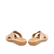 Crystal Embellished Metal Ring Slide Sandals_Apricot (4)