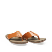 Stitched Strap Thong Sandals_Camel (2)