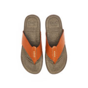 Stitched Strap Thong Sandals_Camel (5)