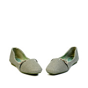 Embellished Triple Ring Mary Jane Ballet Flats_Green (3)