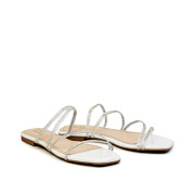 Crystal Embellished Lucite Strappy Sandals_White (2)