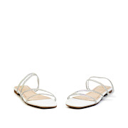 Crystal Embellished Lucite Strappy Sandals_White (3)