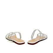 Crystal Embellished Lucite Strappy Sandals_White (4)