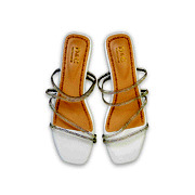 Crystal Embellished Lucite Strappy Sandals_White (5)