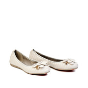 Layered Bow Quilted Ballet Flats_GREY (2)