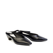 Mary Jane Pointed Toe Kitten Heel Mules_BLACK (2)