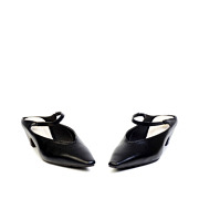 Mary Jane Pointed Toe Kitten Heel Mules_BLACK (3)