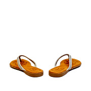 Perforated Pattern Thong Slippers_GREY (4)