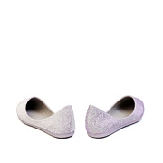 Shimmery Almond Toe Ballet Flats_Purple (4)