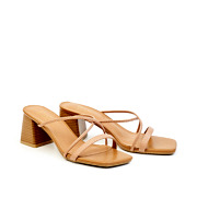 Strappy Square Toe Wooden Block Heel Sandals_PINK (2)