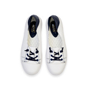 Two-Tone Lace-Up Sneaker Ballet Flats_NAVY (5)