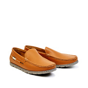 Two-Tone Slip-On Loafers_CAMEL (2)