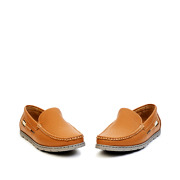 Two-Tone Slip-On Loafers_CAMEL (3)