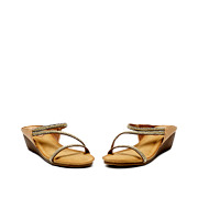 Crystal Braided Strap Mule Wedge Sandals_GOLD (3)