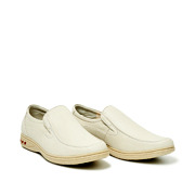 Leather Slip-On Casual Shoes_BEIGE (2)