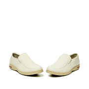 Leather Slip-On Casual Shoes_BEIGE (3)