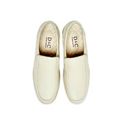 Leather Slip-On Casual Shoes_BEIGE (5)