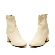 Leatherette High-Top Zipper Block Heel Boots_BEIGE (3)