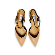 Mixed Media Ankle Strap Kitten Heels_APRICOT (5)