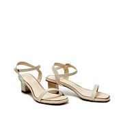 Patent Ankle Strap Square Toe Block Heel Sandals_BEIGE (2)