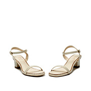 Patent Ankle Strap Square Toe Block Heel Sandals_BEIGE (3)