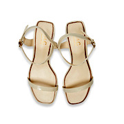 Patent Ankle Strap Square Toe Block Heel Sandals_BEIGE (5)
