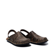 Stitched Sole Wide Fit Slip-On Sandals_COFFEE (2)