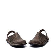 Stitched Sole Wide Fit Slip-On Sandals_COFFEE (3)