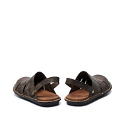 Stitched Sole Wide Fit Slip-On Sandals_COFFEE (4)