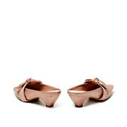 Suede Bow Mary Jane Low Heel Mules_PINK (4)
