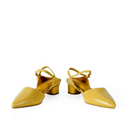 Backless Ankle Strap D'orsay Pumps_YELLOW (3)
