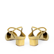 Backless Ankle Strap D'orsay Pumps_YELLOW (4)