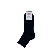 Men Stitch Accent Socks (3 Pairs)_BLACK (2)