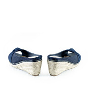 Polka Dot Knotted Espadrille Wedges_NAVY (4)