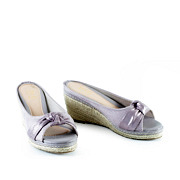 Polka Dot Knotted Espadrille Wedges_PURPLE (2)