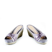 Polka Dot Knotted Espadrille Wedges_PURPLE (3)