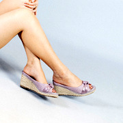 Polka Dot Knotted Espadrille Wedges_PURPLE (5)